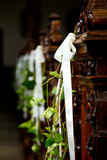 Fototapety Hochzeit, Blumendeko