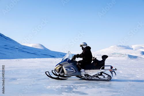 Foto op Plexiglas Antarctica 2 Snomobile