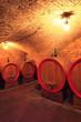 Weinkeller, Montepulciano,Toskana, Italien