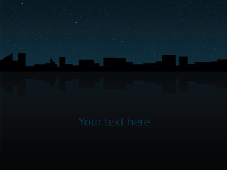 City panorama at night