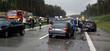 Leinwanddruck Bild - Autounfall 4