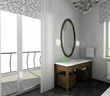 Bathroom. Modern design of interior