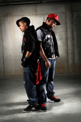 Hip Hop Dancers Posing