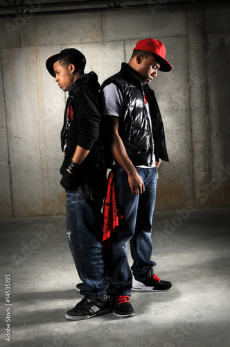 Hip Hop Dancers Posing