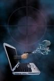 Web crime novel poster