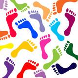 Empreintes de pieds