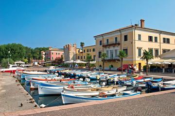 Bardolino Italien Hafen