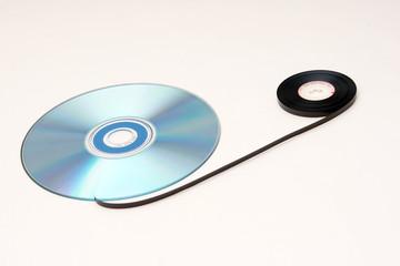 audio-cd und tonband