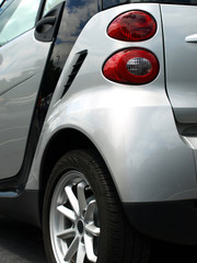Eco Friendly Car rear fender and tire