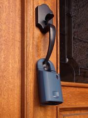 Luxury Model Home security lock
