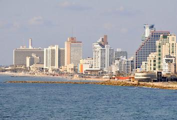 Israel, Tel Aviv Beachfront