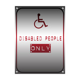 Symbol for disabled people