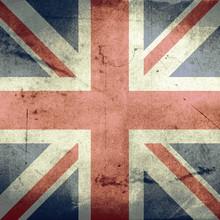 Grunge banderą Zjednoczonego Królestwa