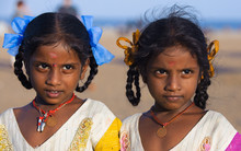 tamil twin girls