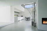Fototapety interior modern house,