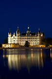 Schwerin at night