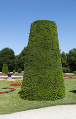 Landscape park of Schonbrunn Palace. Vienna, Austria