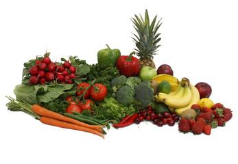 Fruits and Vegetable Arrangement