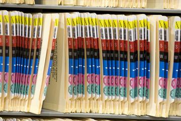 Generic Medical Record Folder