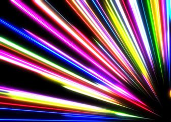 Kolorowe światło
