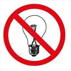 prohibition light bulb