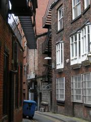 Altstadtgasse in Manchester