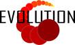 Detaily fotografie Evolution logo