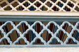 moroccan architectural ornament poster