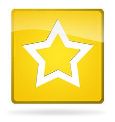 icona stella giallo