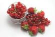 Groseilles et fraises