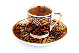 Authentic Turkish coffee poster