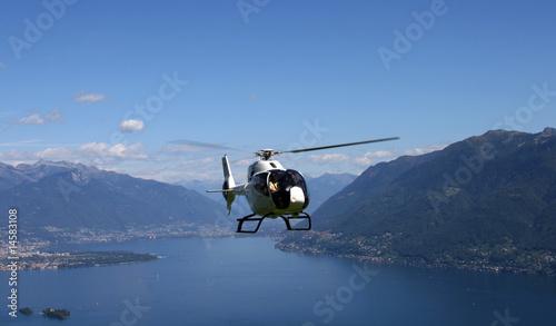 Helicopter am Lago Maggiore
