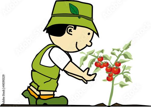 K jardinier 10 fichier vectoriel libre de droits sur for Jardinier tarif