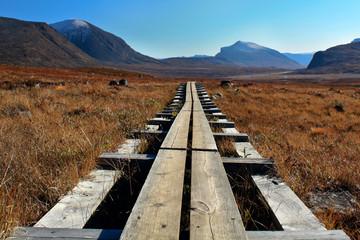 Der Kungsleden in Lappland