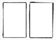 Two Vector Film Frame Edges / Borders - 14596397