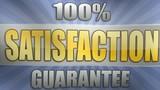 100% Satisfaction Guarantee poster
