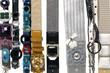 Display of fashion belts