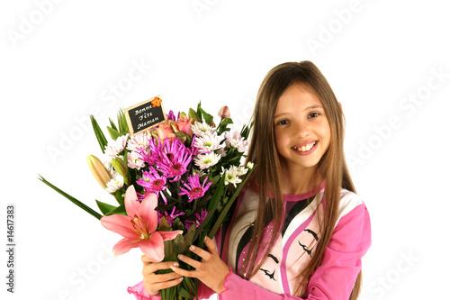 Gros bouquet de fleurs photo libre de droits sur la for Gros bouquet de fleurs