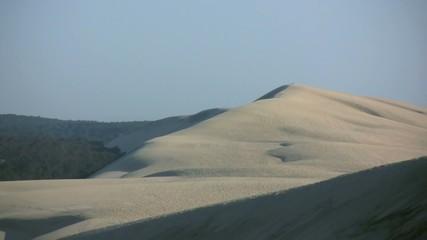 dézoomer depuis le sommet de la dune du Pilat
