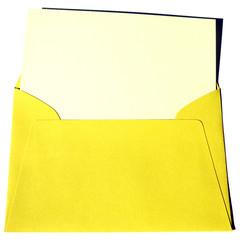 enveloppe jaune