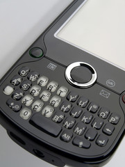 Smart Phone keypad angle view right
