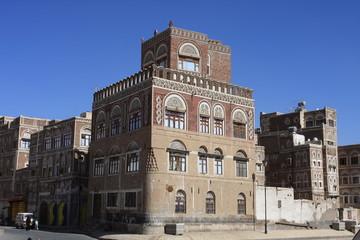Maison tour de Sana'a
