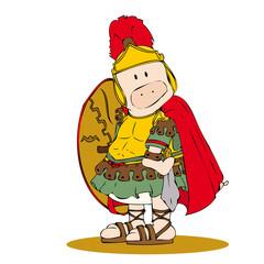 Roman centurion pig