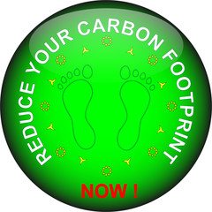 Glassy Button Reduce Your Carbon Footprint 010
