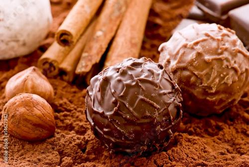 Schokoladen Trüffel
