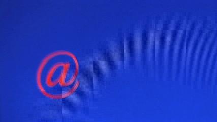 @ symbol circling computer screen