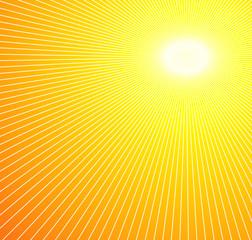 Sun Burst Summer Background
