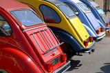 Fototapety Coffres de voitures de collection