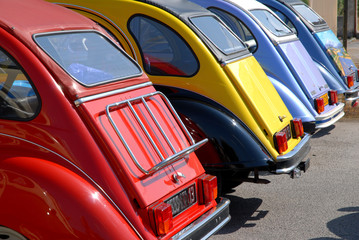 Coffres de voitures de collection