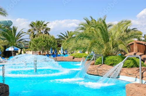 Aqua park open air water facilities, Antalya, Turkey - 14635754